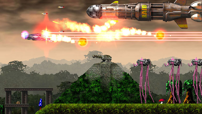 Jets'n'Guns screenshot
